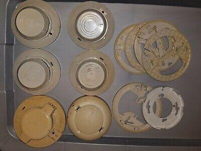 System Sensor Fire Alarm Smoke Detector Model 2400 2 Misc. Units - Lot Of 6