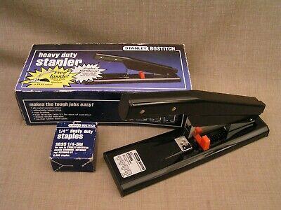 Stanley Bostitch B310hds Heavy-duty Stapler Mint Wbox Staples To 150 Sheets