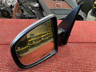 BMW 2007-2013 E70 X5 LEFT DRIVER SIDE DOOR AUTO FOLD HEATED DIM MIRROR OEM 81K