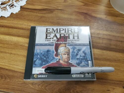 Empire Earth The Art Of Conquest Expansion PC Game 2002 Windows With Key