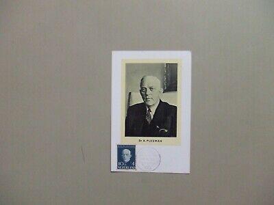 Netherlands 1954 Dr A.Plesman maxi card