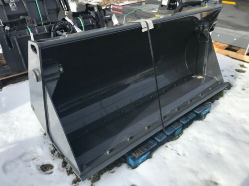 """New FFC /  Case Construction 82"""" 4 in 1 Bucket for Backhoes and Tractor Loaders"""