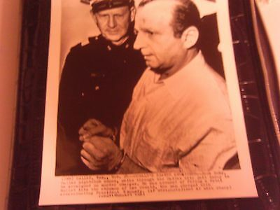 ORIGINAL 1963 PHOTO PRESS RELEASE WIREPHOTO KENNEDY OSWALD ASSASINATION RUBY
