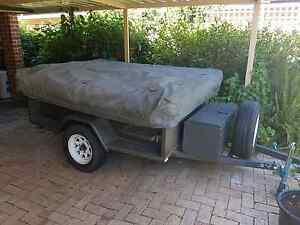 Camper trailer with mattress Yokine Stirling Area Preview