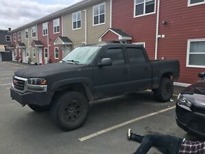 2006 GMC Sierra Lifted