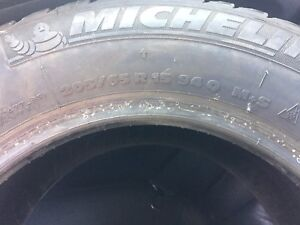 "Michelin x-ice winter tires 15"".    (Like new)"