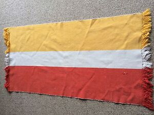 IKEA Rug / Mat Orange Yellow WhiteHood Condition