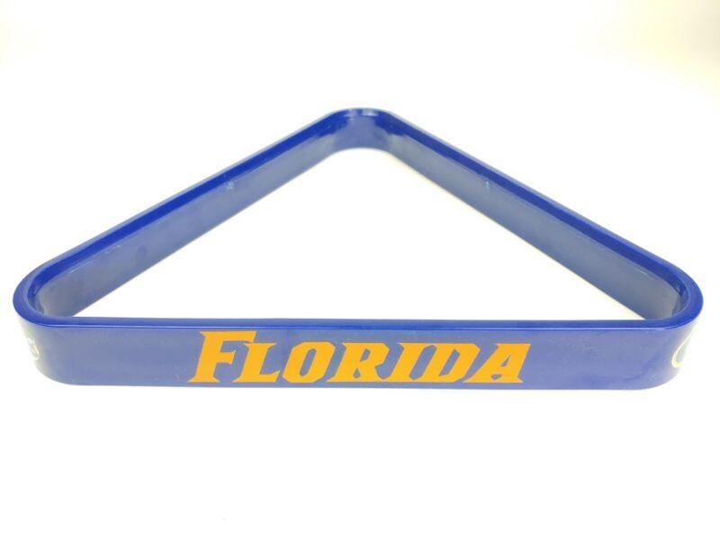 University of Florida Gators Billiard and Pool Plastic 8-Ball Triangle Rack