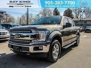 2018 Ford F-150 XLT 4X4, TRAILER TOW, BACK UP CAM, SIDE STEPS