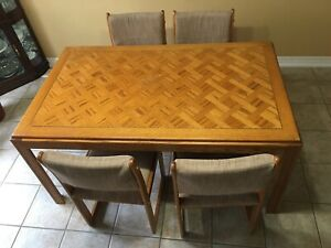 Dining room set and many more other furnitures Was