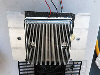 20mm56 Peltier Device 12vdc With Heat Sinks With Fans Tests Good Very Good