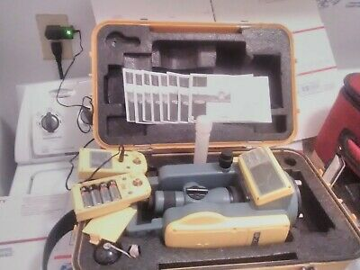 Spectra Precision Det-2 Digital Electronic Construction Theodolite Kits 2 Acc.