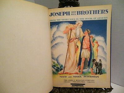 1938 Joseph and His Brothers Coat of Many Colors Egypt Jacob His Sons Petersham