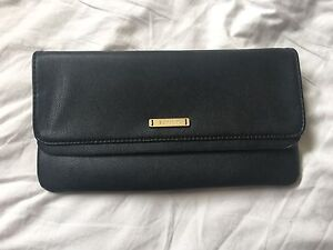 Black Leather Feel Esprit Clutch - Never Been Used! Beaumaris Bayside Area Preview
