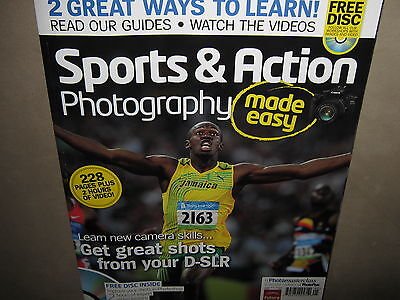 - Photo Masterclass SPORTS & ACTION PHOTOGRAPHY Made Easy 228 Pgs +2 Hour VIDEO CD