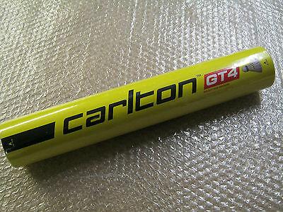 NEW CARLTON GT4 FEATHER SHUTTLECOCKS Speed 78 Tube of 12 / 1 x dozen shuttles