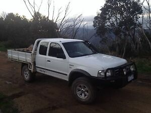 2006 Ford Courier 4x4 Geelong Geelong City Preview