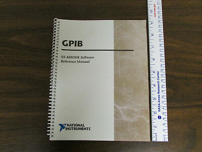 National Instruments Gpib Ni-488ddk Software Reference Manual