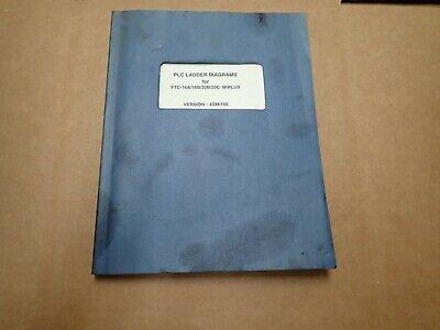 Mazak Plc Ladder Diagrams Manual For Vtc-16a16b20b20cm-plusver. 439k103
