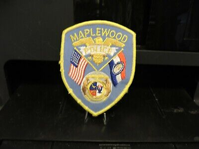 Company Closed, Patch Retired: City of Maplewood, MO. Police Patch