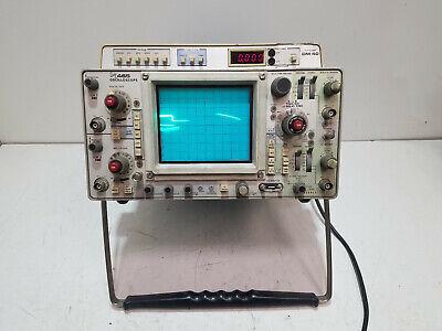 Tektronix 465 Oscilloscope With Dm40 Digital Multimeter Dvom