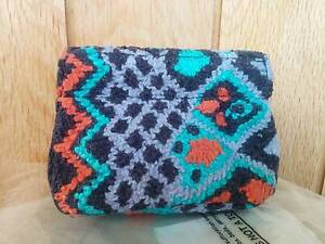 RRP$37 New Anthropologie Coin Purse Clutch Bag Strathmore Moonee Valley Preview