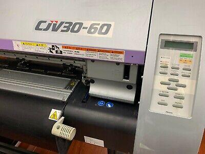 Mimaki Cjv30-60 Large Format Printer And Cutter 30