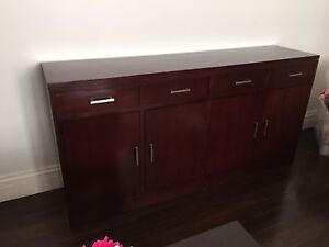 Solid timber buffet cupboard Waverley Eastern Suburbs Preview