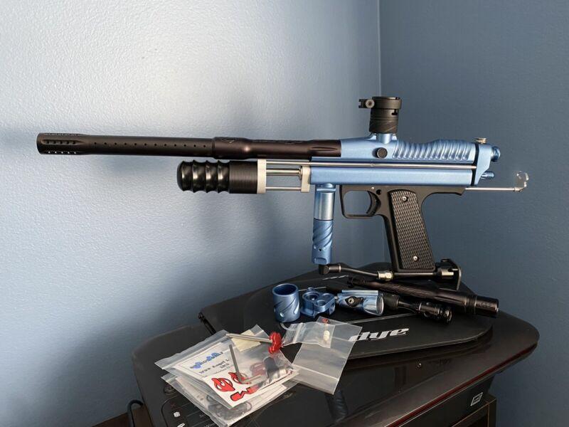 Rare Warped Sportz 2K3 Dark Autococker CCM Pump Sniper With Extras