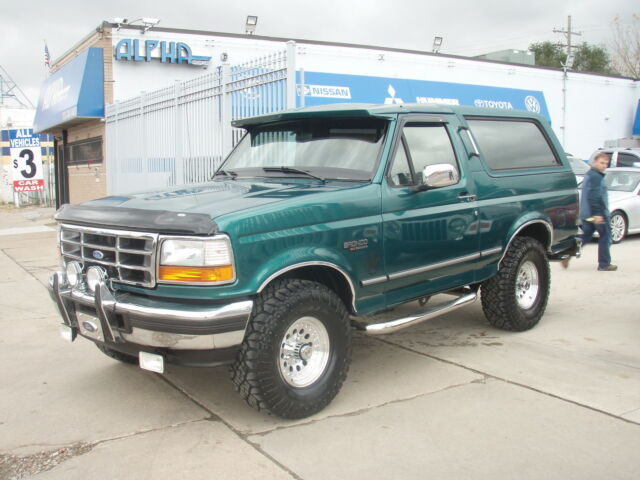 1996 ford bronco xlt amazing condition used ford. Black Bedroom Furniture Sets. Home Design Ideas