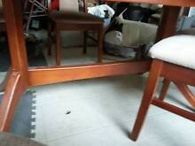 Beautiful extendable wooden dining tables with 6 chairs Wollongong 2500 Wollongong Area Preview