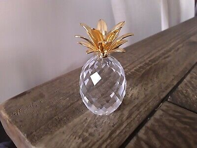 Swarovski Crystal Small Pineapple Figurine 2.5""