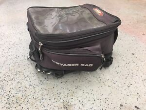 Tank/tail bag moto