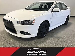 2014 Mitsubishi Lancer GT AWC AWD, GT MODEL, LEATHER