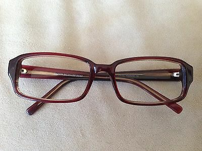 Hmahéo Red Maroon Eyeglasses Sunglasses Frames 56-17-135 France