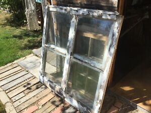 Windows single pane antique