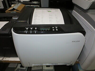 Ricoh Color Laser (Ricoh SP C235dn Color Laser Printer - Only 5K page count w/ 80% toners )