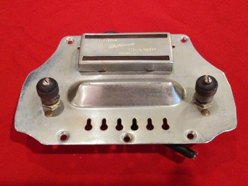 Vintage  ELECTROMUSE VALCO LAP STEEL GUITAR  BRIDGE PLATE PICKUP POTS Parts