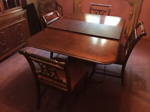 Antique dinning set MOVING MUST SELL Bernhardt Furniture