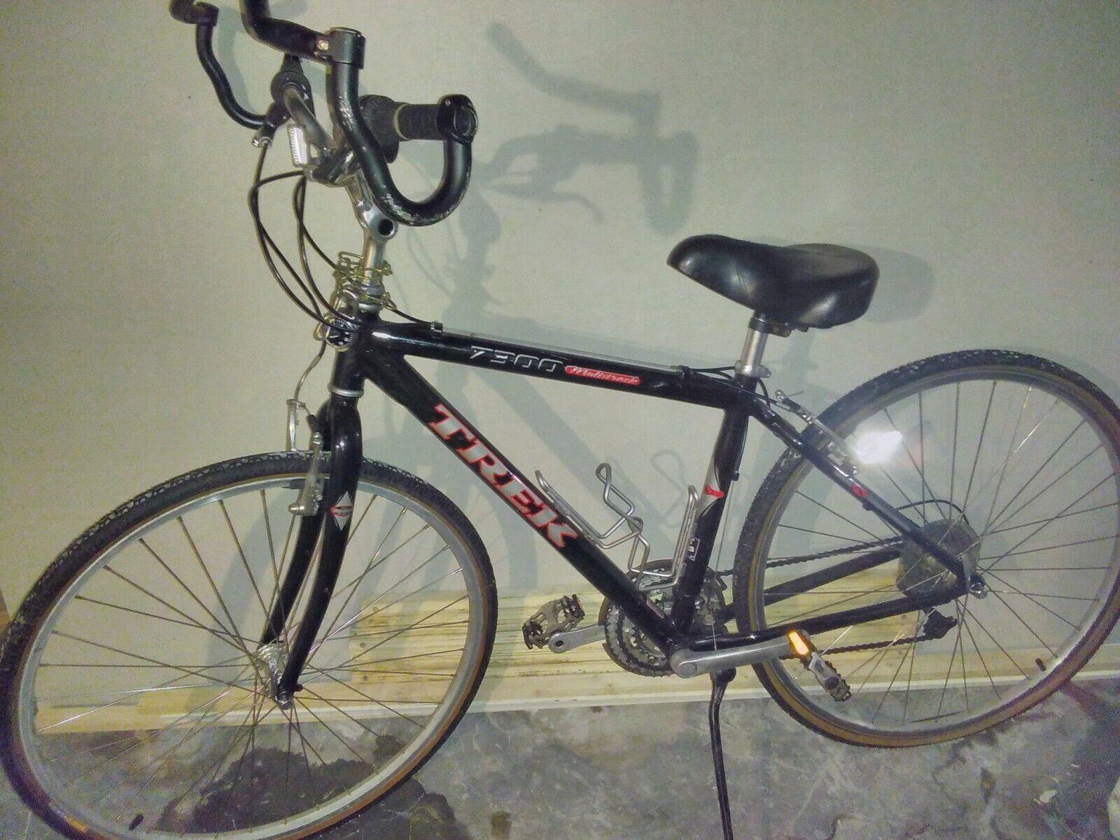 0f097a456aa Trek mens 7300 fx Multitrack hybrid bicycle