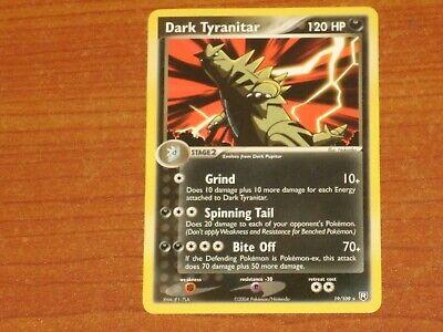 Pokemon Card: DARK TYRANITAR #19/109 HP120 EX-Team Rocket Returns Non-Holo Rare
