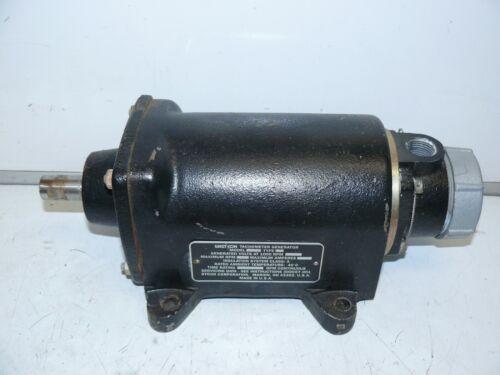 Westcon Model 750 Type E Tachometer Generator 1000 RPM @ 6V 5000RPM Max