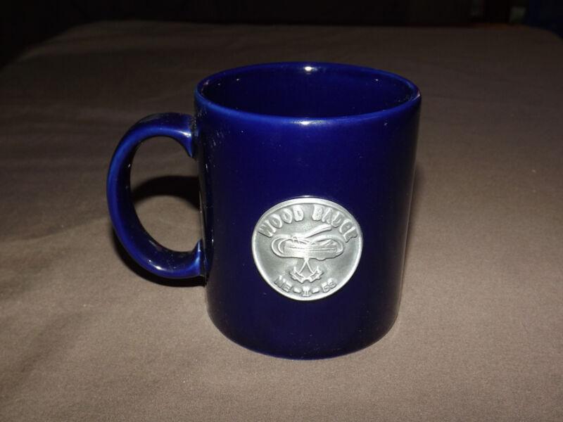 VINTAGE BSA BOY SCOUTS OF AMERICA CERAMIC COFFEE MUG   WOOD BADGE