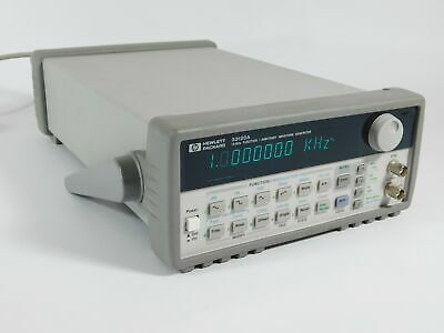 Hp 33120a 15mhz Function Arbitrary Waveform Generator Power Cord Works Great
