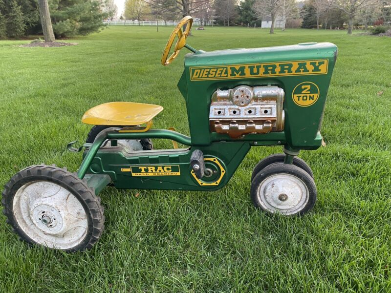 Vintage Murray Diesel 2 Ton Pedal Tractor