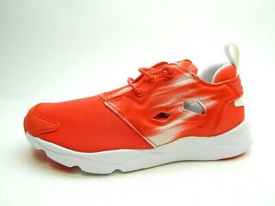 REEBOK FURYLITE CONTEMPORARY LASER RED WHITE WOMEN SHOES SIZE 8