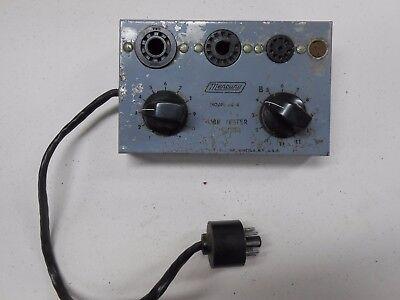 Mercury Model Ad-4 Tube Tester Module Untested