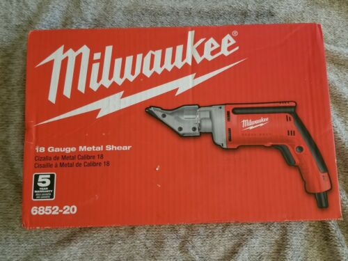 Milwaukee 6852-20 18-Gauge Shear NEW