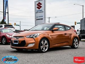 2015 Hyundai Veloster ~Nav ~Backup Cam ~Heated Seats ~Panoramic