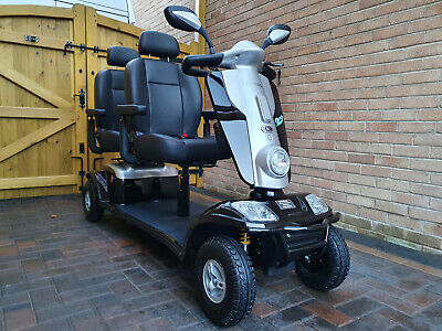 SCOOTERPAC TANDEM MOBILITY SCOOTER.TWO PERSON MOBILITY SCOOTER.DELIVERY.WARRANTY